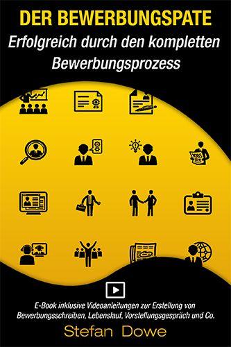 E-Book-Cover: Erfolgreicher Bewerbungsprozess Tipps und Hilfe